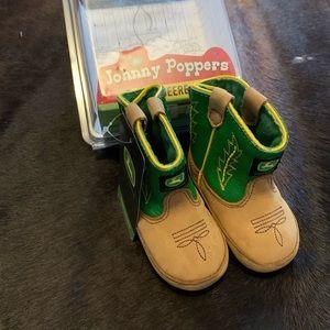 John Deere Baby boots